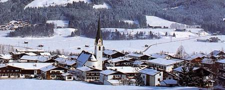 Een impressie van winter in Ellmau.